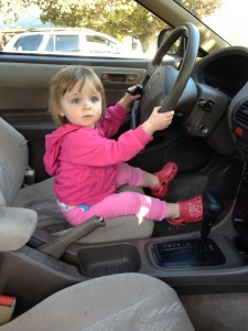 Emme driving