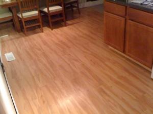 New pergo flooring: spalted beech